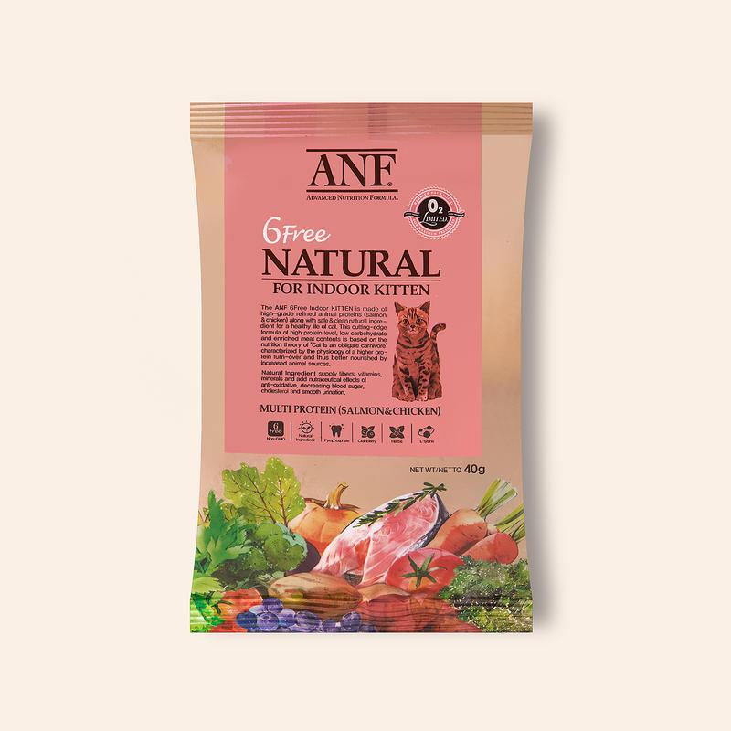 ANF 유기농 6Free 인도어 키튼 40g