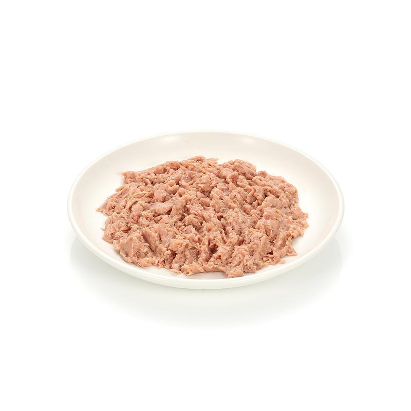 [4+2] 캣츠파인푸드 필렛 No.405 칠면조&닭고기&연어 캔 85g