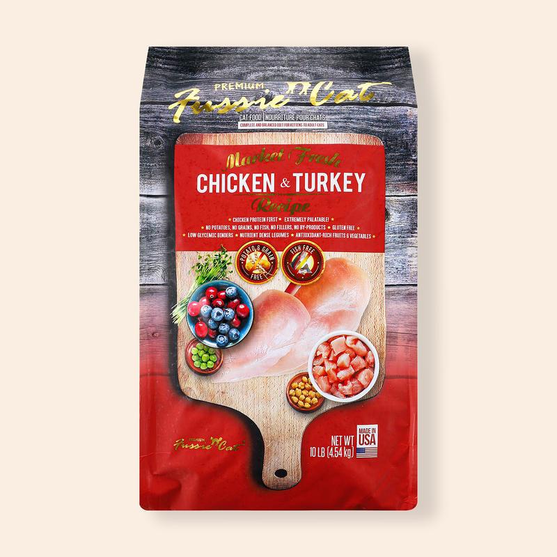 퍼시캣 치킨&칠면조 레시피 4.54kg