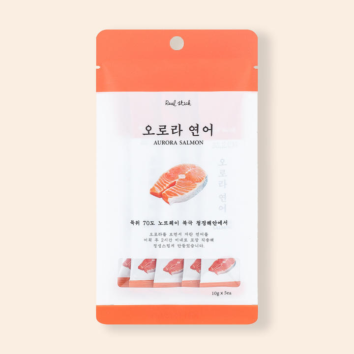 프로젝트21 리얼스틱 오로라연어 5개입