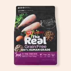 하림펫푸드 더리얼 캣 그레인프리 크런치 어덜트 닭고기 1.6kg