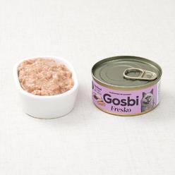 고스비 프레스코 닭고기&토끼고기 캔 70g