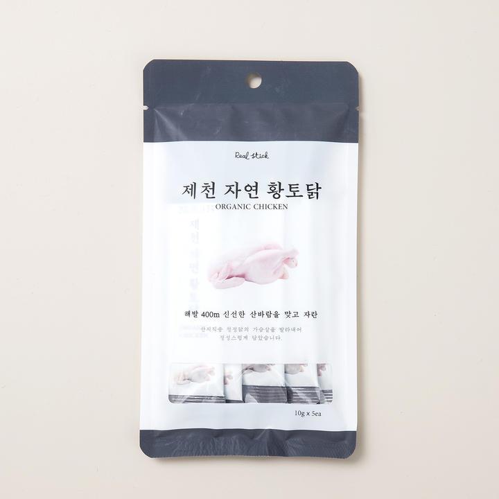프로젝트21 리얼스틱 제천 자연 황토닭 5개입