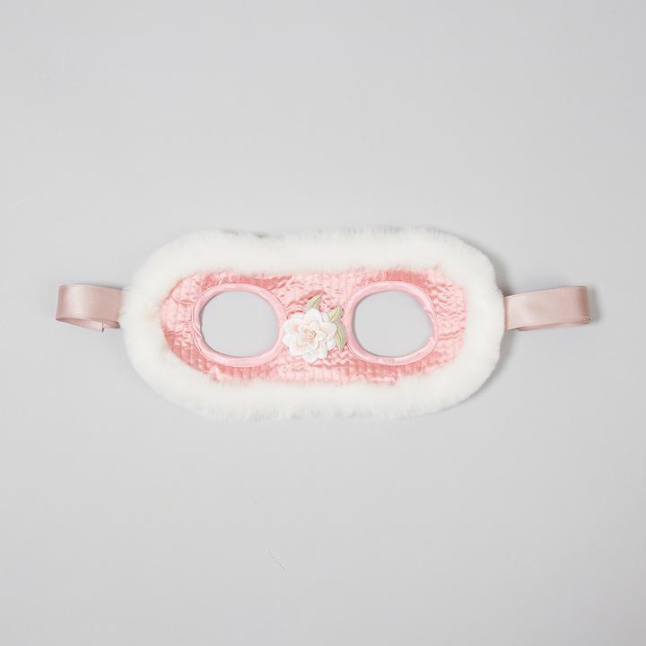 이츠독 설중화 누빔 귀도리 핑크