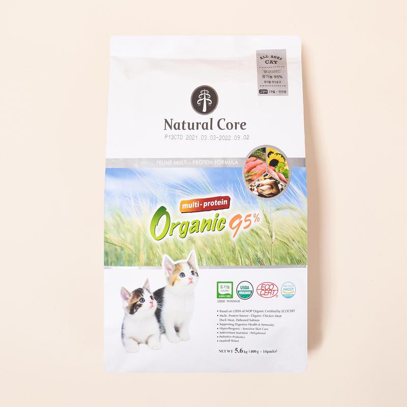 네츄럴코어 유기농 95% 멀티프로틴 5.6kg