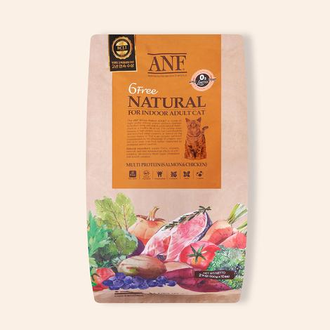 ANF 유기농 6Free 인도어 어덜트 2kg