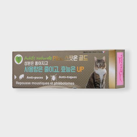 필루 스팟온 골드 천연 해충방지 젤 고양이용 1ml