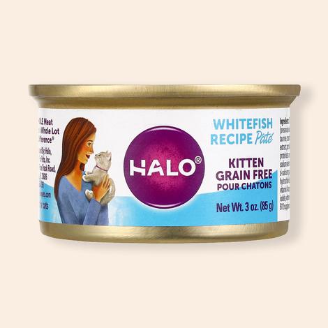 HALO 키튼 그레인프리 흰살생선 캔 85g