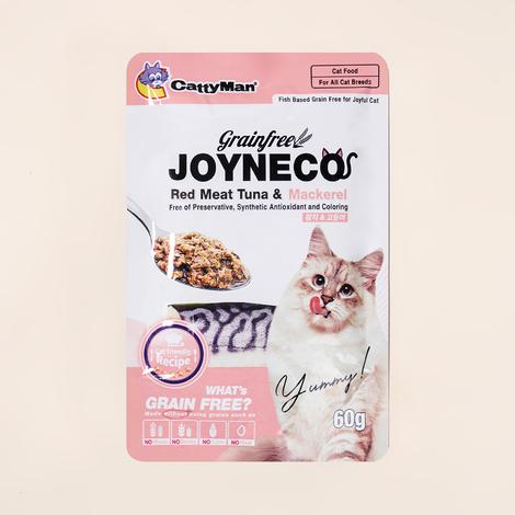 [단독상품] 캐티맨 조이네코 참치&고등어 파우치 60g