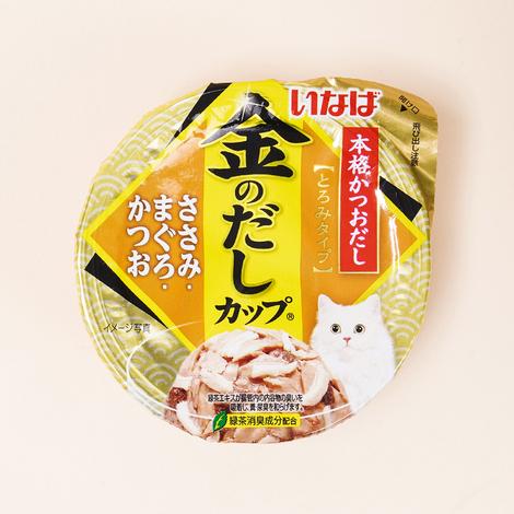 이나바 금빛육수 닭가슴살&참치&가다랑어 컵 70g