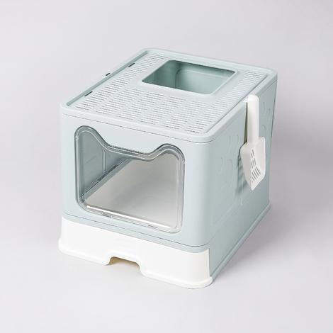 펫라이프 접이식 화장실 블루