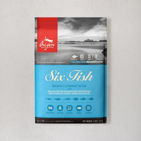 오리젠 6 피쉬 캣 5.4kg (오리젠 6피쉬 340g 증정)